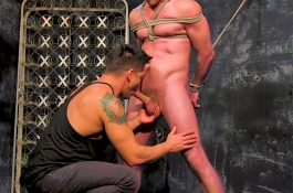 Séance Bondage Gay avec Dominic Pacifico