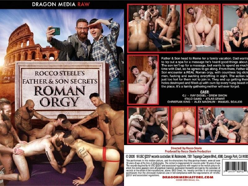 Orgie dans un spa romain