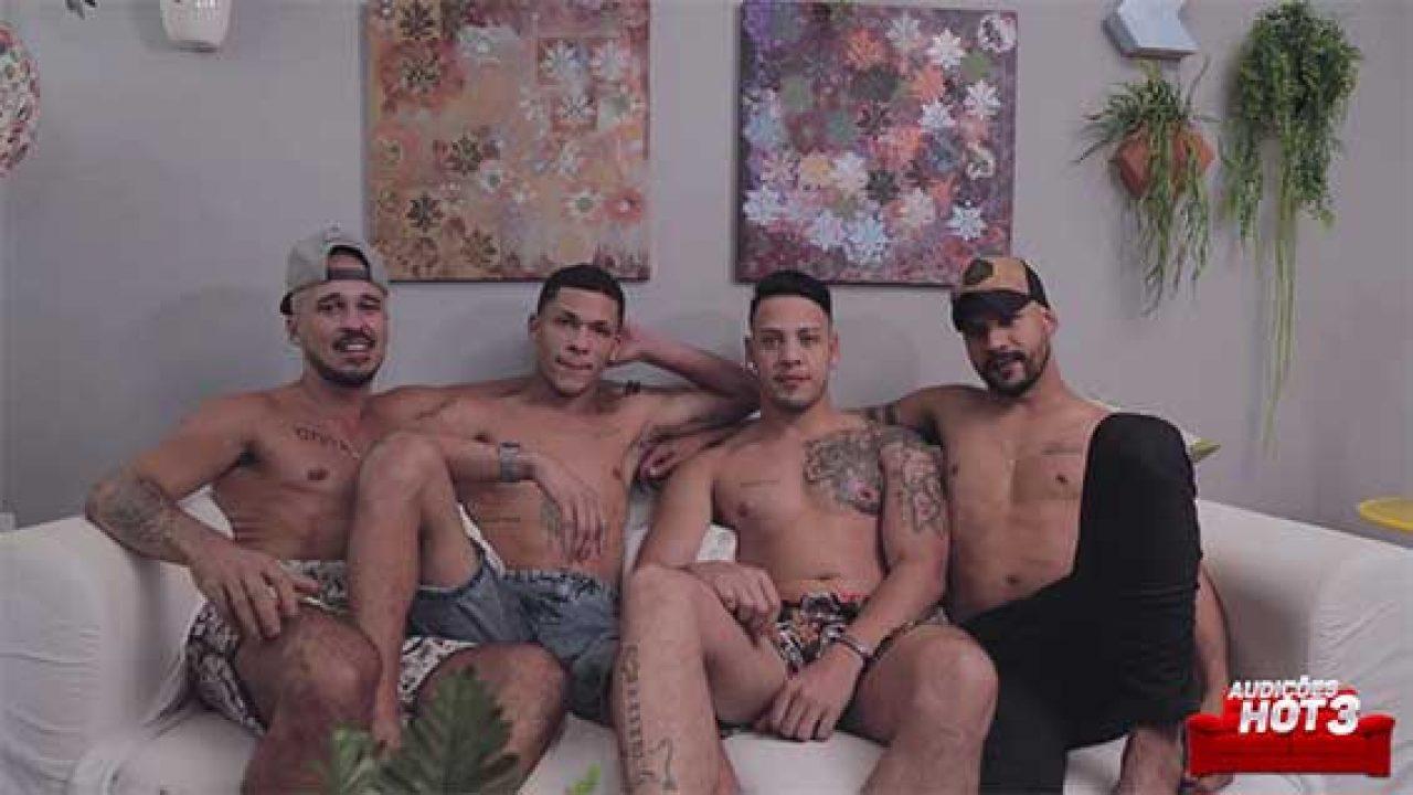 Auditions Porno : A la recherche de la future star du porno gay brésilien