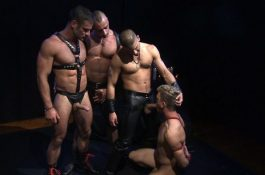 TitanMen – Folsom Undercover – Dirk Jager, Frank Philipp, Titus, Tony Buff & Tyler Peter