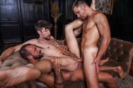 Drew Dixon offre son trou aux grosses queues de Sir Peter et Andrey Vic